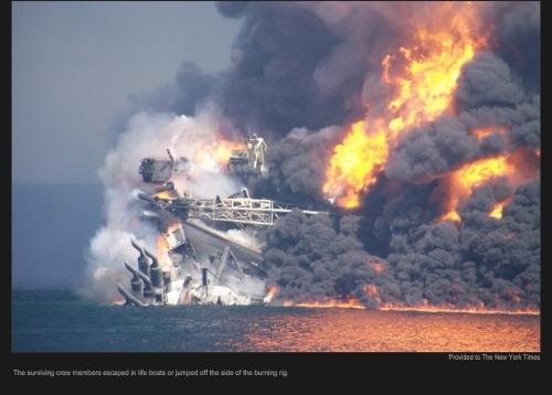 deep water horizon oil spill
