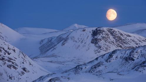 Moon landscape in northeast Greenland (Credit: Morten Hilmer)