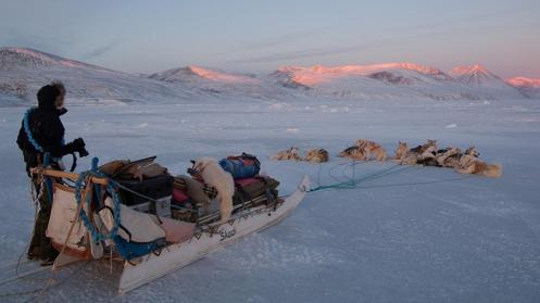 Sirius Sled Patrol (Slædepatruljen Sirius) in Greenland (Credit: Morten Hilmer)