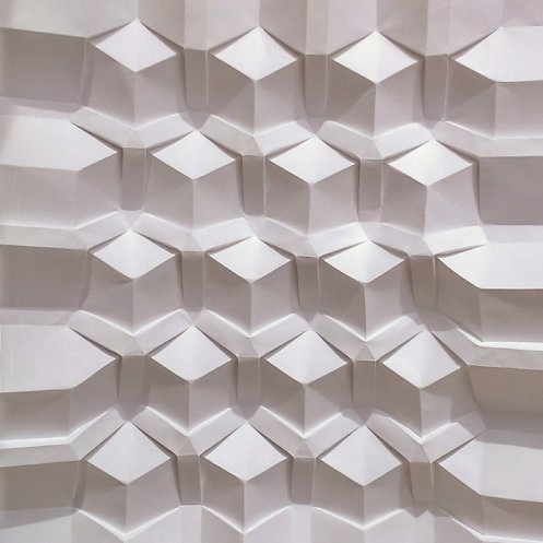 source tessellating patterns formed from intricately folded paper by polly verity colossal